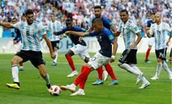 世足》姆巴佩梅開二度 法國4:3勝阿根廷 率先晉8