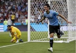 世足》卡瓦尼梅開二度 烏拉圭也送C羅回家