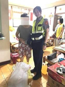 女警人美心更美 助獨居奶奶急難救助