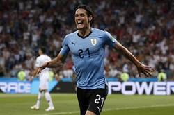 世足》烏拉圭利多消息 卡瓦尼可望替補上陣