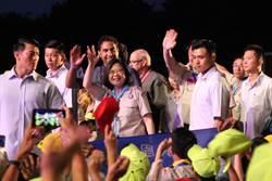 全國大露營上萬童軍先經大雨折騰 蔡總統宣布啟動