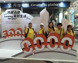 高鐵搭乘將破5億人次 幸運兒送好禮