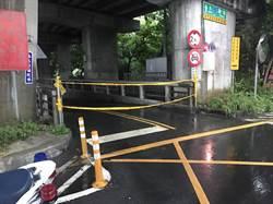 豪雨強襲台南 後壁、新營部分路面水淹至腳踝