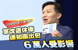 《中時晚間快報》軍改退休俸通知函出包 6萬人受影響