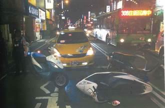 騎士遭警攔查加速逃 拉扯傷警酒測還破表罪加一條