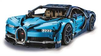 搶當山豬王!超逼真還原樂高Bugatti Chiron限定開賣