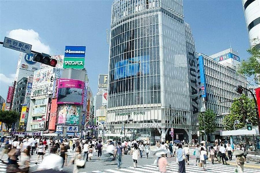 信義房屋表示,東京、大阪等一級城市具備國家重點發展優勢,具備長期人口磁吸效應,人口不減且年年增加。(信義房屋提供)