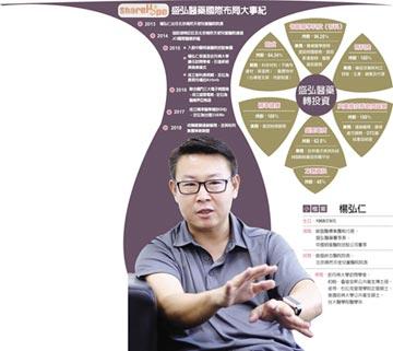 盛弘醫藥董事長楊弘仁 攜國際平台打世界盃