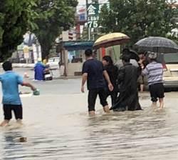 彰縣豪雨轟炸 90歲嬤疑淹水跌倒釀不幸