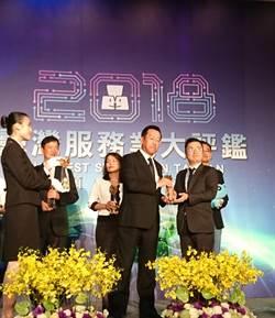 JINS首度奪金 贏得服務大評鑑金牌獎