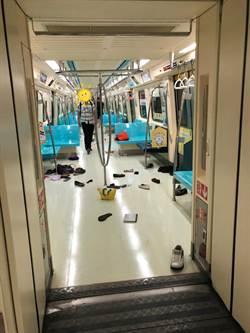 台版屍速列車 北捷驚見「吱吱之亂」民眾尖叫逃竄有人受傷