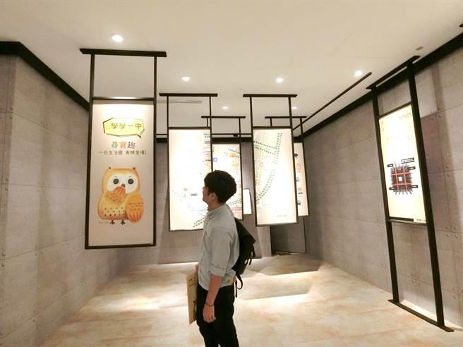佳福建設建置的工法館,讓購屋民眾深入了解建築嚴謹的品質。(盧金足攝)