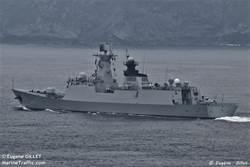 圖輯》高顏值054A濱州艦 訪德、波蘭後再抵法