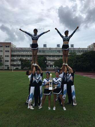 龍德家商競技啦啦隊成軍4年 勇奪全國團體冠軍