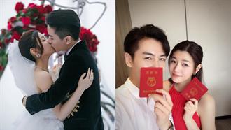 結婚紀念日和生日同一天!陳妍希告白陳曉「發文時間」狂灑糖❤