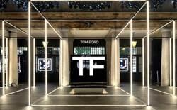 精品美妝TOM FORD落腳台中 用太空科技為靈感打造店面