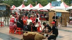 認識九族文化之美 市民廣場重現賽夏族傳統婚禮
