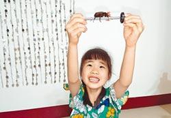 森林系女孩昆蟲王 玄鳳鸚鵡玻璃心