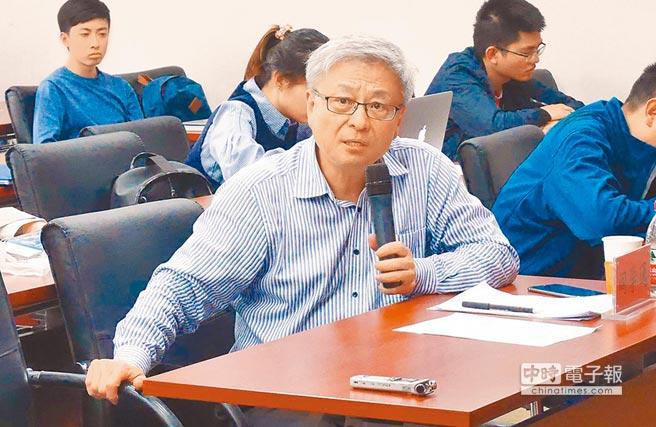 北京清華大學國際關係研究院院長閻學通。(記者陳君碩攝)