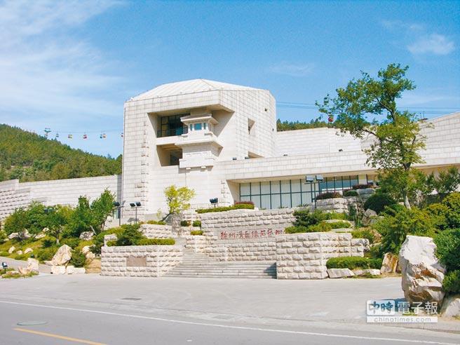 坐落在雲龍湖風景區內的徐州漢畫像石藝術館。
