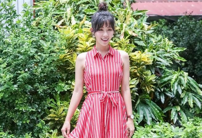 安唯綾出席《烏鴉燒》入圍台北電影節活動。(蘇蔓攝)