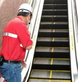 台鐵引進電扶梯專利清潔技術 縮短作業時間