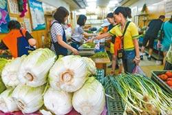 菜價先漲1成 菠菜更到4成6!颱風還沒到 青蔥每斤飆到76元