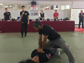北市警局邀請美籍2教練 教習巴西柔術及格鬥技