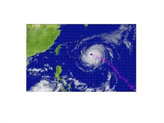瑪莉亞颱風 飛機追風觀測明晨啟動