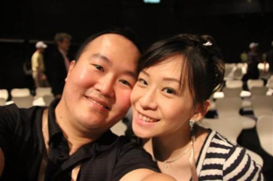 元祖大少東張乙濤,4年前被妻子藍婉綺指控家暴,最終離婚收場。(資料照/翻攝自臉書)