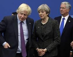 脫歐局勢緊張 英外相強生跟著辭職