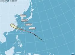 【不斷更新】瑪莉亞強颱逼近 10日停班、停課看這裡