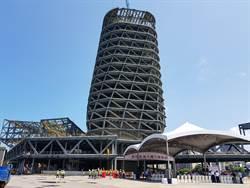 高雄旅運中心上樑 吳宏謀要求明年底完工啟用