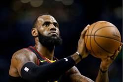 NBA》詹皇遠走洛城 帶走23%騎士球迷