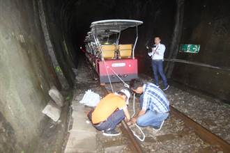 全台唯一鐵道自行車 18輛隧道防颱2輛受風雨考驗