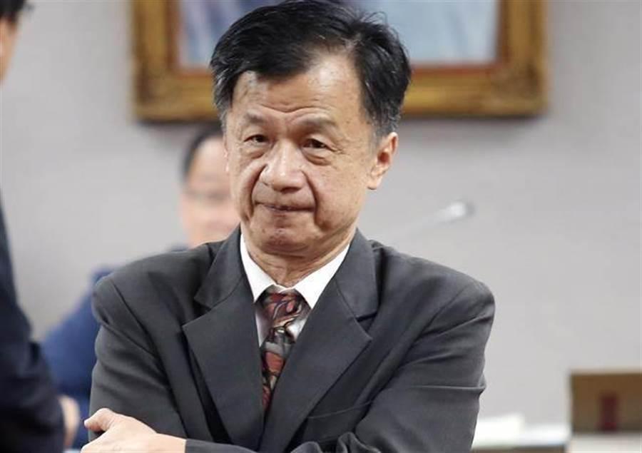 法務部長邱太三。(報系資料照 陳信翰攝)