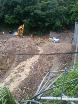 颱風天出門注意 北橫、新中橫公路坍方不通