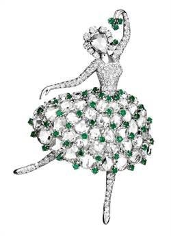 梵克雅寶贊助芭蕾舞劇 將在8月登上台中國家歌劇院