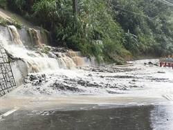 颱風瑪利亞快閃 竹縣五峰鄉雨量最多