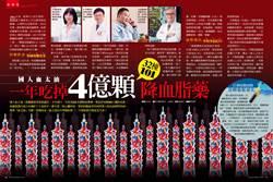 國人血太油 一年吃掉4億顆(32棟101大樓)降血脂藥