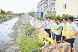 防颱 魏明谷視察鹿港抽水站