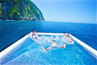 搭船跳海中游泳池!太魯閣消暑可以這樣玩