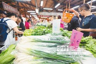 颱風行情 荷包失血!量增價揚 葉菜類飆漲5成