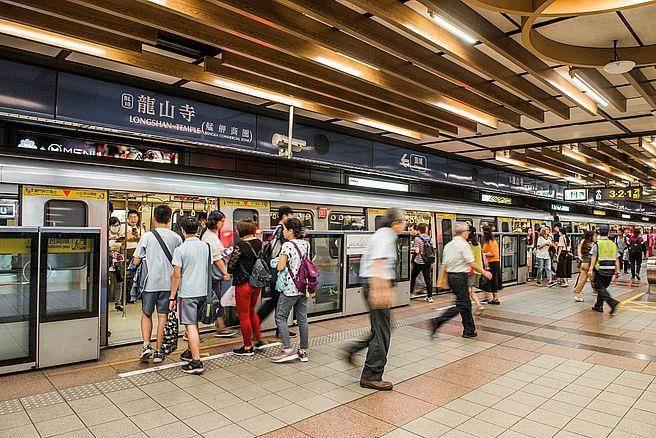 打通台北最重要交通動脈的捷運板南線,萬華獨樹一格著台北市其他區段所沒有的慢活住宅氛圍。(圖/中時資料庫)