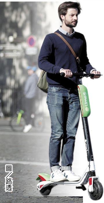 共享電動滑板車興起Lime、Bird估值大躍進