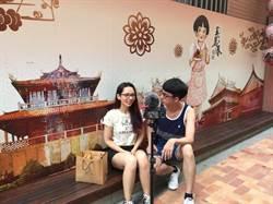 阿滴、滴妹玩台南吃小吃 實測店家英語力