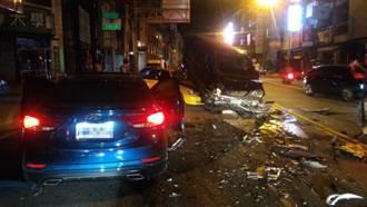 酒駕闖紅燈逆向撞3車 被害車主是通緝犯也被抓