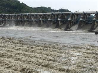 水公司淨水效能一級棒 瑪莉亞颱風大台中豪雨濁水沒在怕
