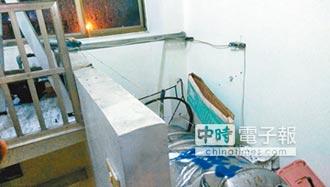 地牛撼台南 震倒民宅水塔
