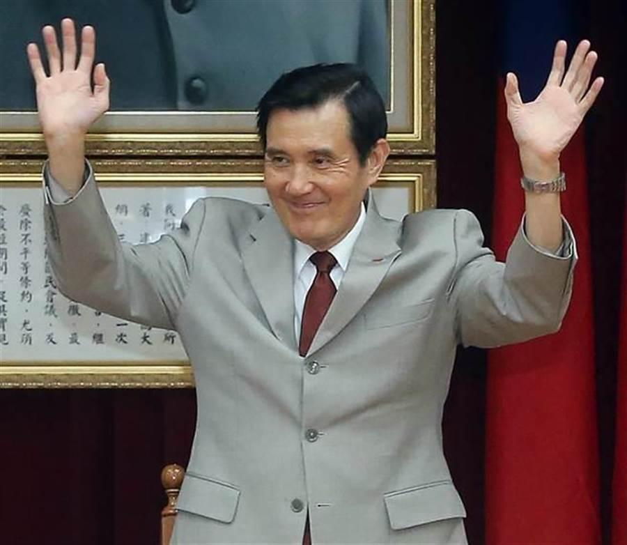 前總統馬英九。(圖/本報系資料照片)